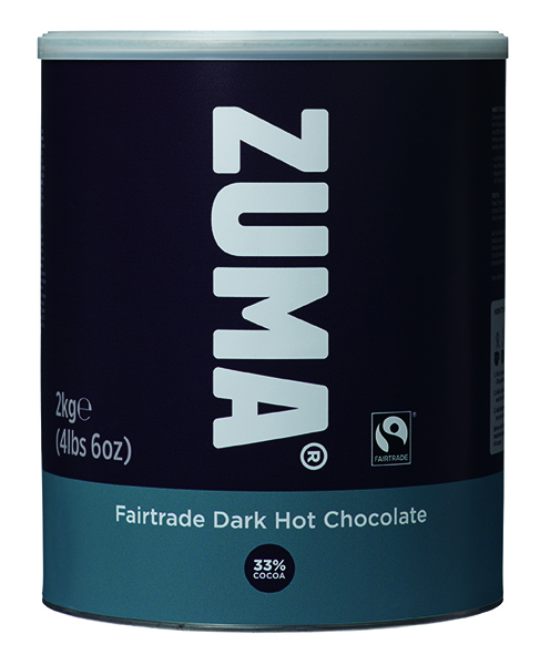 B307A Zuma Fairtrade Dark Hot Chocolate Tin