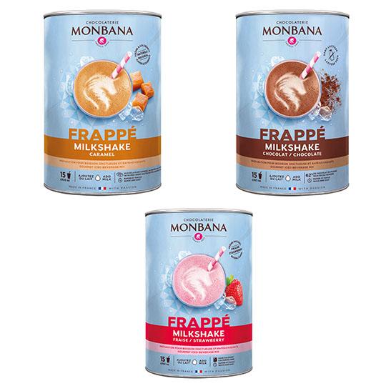 Monbana Frappe Milkshakes