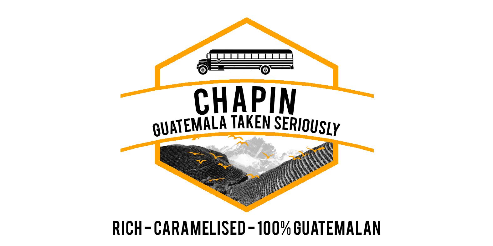 CHAPIN Guatemalan espresso blend