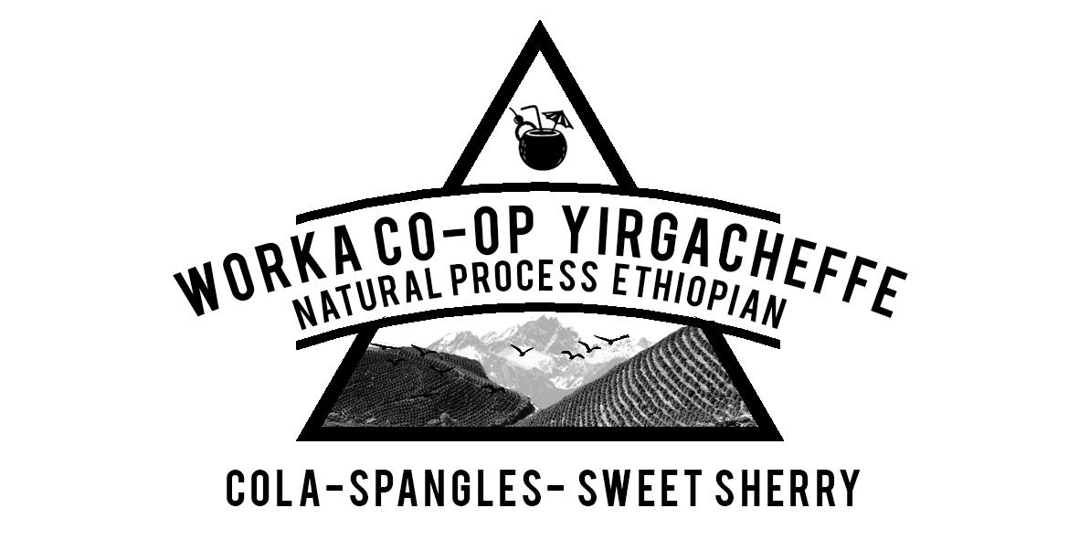ETHIOPIAN YIRGACHEFFE WORKA COP-OP Natural