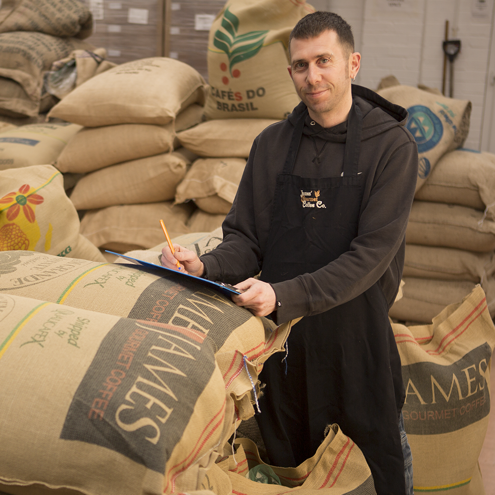 Duane-Team at James Gourmet Coffee Co Ltd
