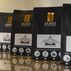 Freshly-Roasted- James Gourmet Coffee-