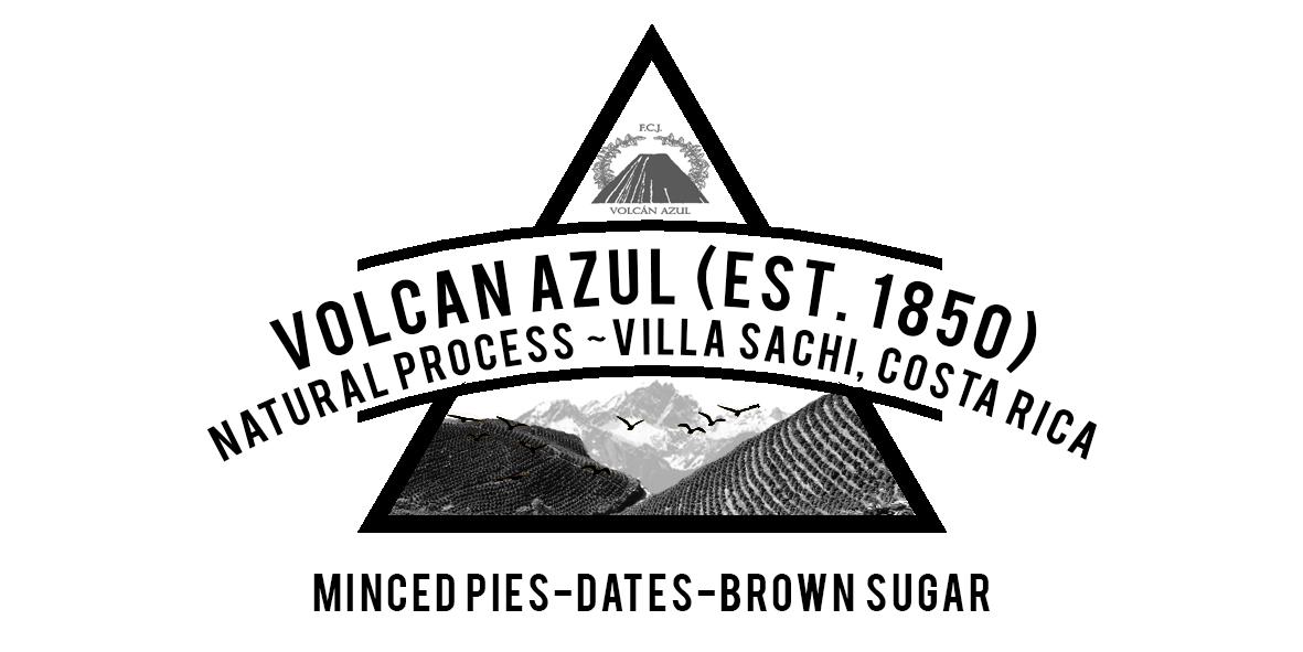 Volcanes Azul Natural process Villa Sachi