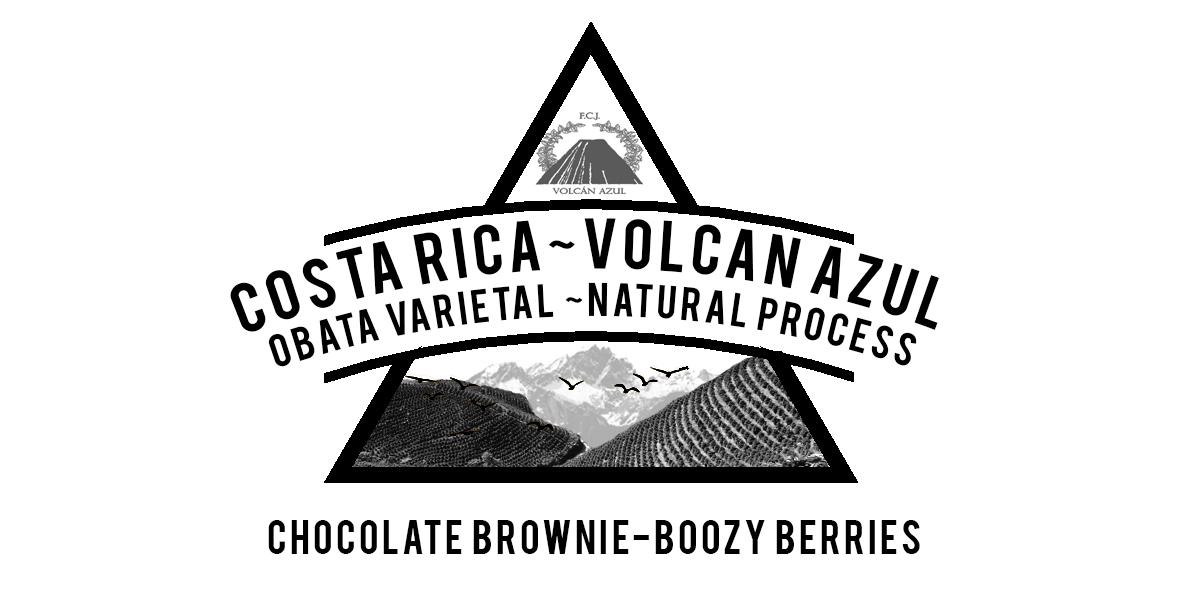 Costa Rica Volcan Azul OBATA NATURAL